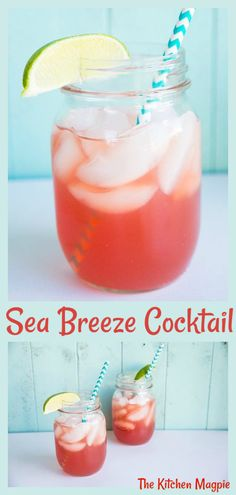 The Sea Breeze cocktail : vodka, cranberry and grapefruit juice combine to make one easy drinking cocktail! The Sea Breeze cocktail : vodka, cranberry and grapefruit juice combine to make one easy drinking cocktail! Cocktails Vodka, Beste Cocktails, Cocktail Drinks, Summer Cocktails, Cocktail Recipes With Vodka, Easy To Make Cocktails, Grapefruit Juice Cocktail, Cranberry Juice And Vodka, Alcoholic Drinks Using Grapefruit Juice