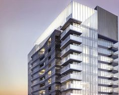 #Toronto high-rise tower at Concord Adex with modern architecture