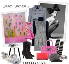"""farfetch.com winter wishlist!"" by iggy-rouvinen ❤ liked on Polyvore"