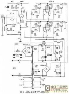 300b tube single-ended class a amplifier circuit diagram ... taco zone valve wiring diagram 573