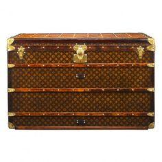 b4e03a01dd5be 1st Dibs- Louis Vuitton Trunk via Amy Vermillion Louis Vuitton Trunk