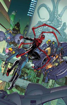 O Universo do Homem-Aranha cheio de antigos e novos Aranhas - Quadrinhos - PAGE 2 - Herói