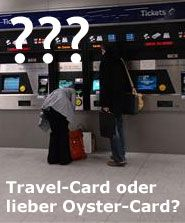 Travel oder Oyster-Card