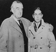 Tyrone Power and his father,Tyrone Power Sr.
