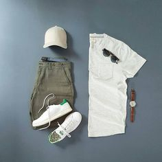 outfit grid for men