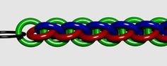 Links to several tutorials in jewelry chain - includes Jens Pind