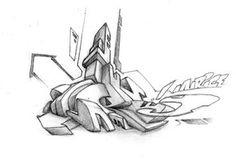 Graffiti Wild Style Sketch