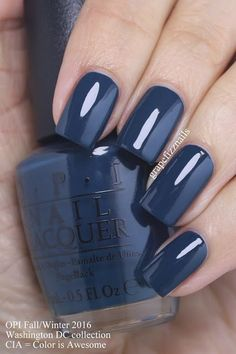 OPI Washington DC Collection CIA = Color Is Awesome