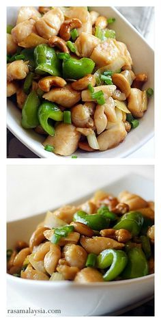 Chinese Cashew Chicken with only 3 main ingredients & dinner is ready in 30 mins. This easy recipe teaches you how to make brown sauce and tender chicken, like Chinese restaurants!
