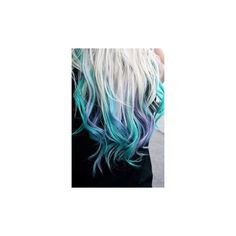 Dyed Curly Hair found on Polyvore featuring beauty products, haircare, hair and curly hair care