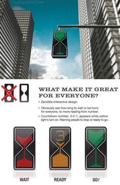 nice traffic lights