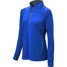 Mizuno Warmalite 1//4 Pullover Black Large women's softball top