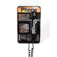 Urban Payphone Replica Remember these motha fuckas? This one actually works! Improve your street cred with this one of a kind payphone covered in tags and dirty slaps.  Available on our website  #graffiti #tags #slaps #streetphone #payphone #streetart #stayfreshtilldeath #bayareaartists #unofficialmerchandise #unofficialmerchants