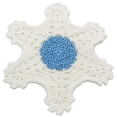 Winter's Way Snowflake Tablemat Designed by Julie A. Bolduc Date Added: November 23, 2013 This table mat is easy to make and starts out as a...