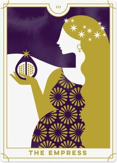 Detailed Tarot card meaning for the Empress including upright and reversed card meanings. Access the Biddy Tarot Card Meanings database - an extensive Tarot resource. Strength Tarot, Love Tarot Card, Tarot Significado, Tarot Major Arcana, Daily Tarot, Tarot Card Meanings, The Empress, Tarot Readers, Deck Of Cards