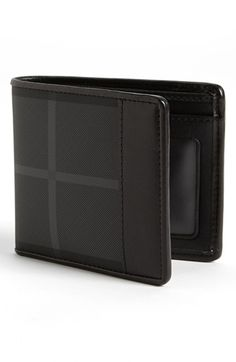 Burberry Check Print Billfold Wallet | Nordstrom
