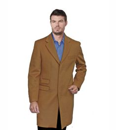 9774ea28e Wool and Cashmere Men s Enzo the Maynor Camel color high quality Men s  Jackets