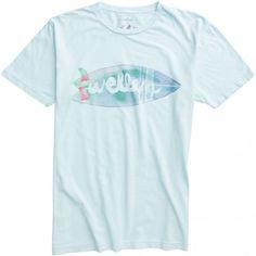 Twinnie Tee in Light Blue von Wellen Surf - Coasthouse Online Shop $24.80