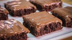 Fudgy Brownies, Recipe Sites, Greek Recipes, 3 Ingredients, How To Make Cake, Finger Foods, Nutella, Food And Drink, Sweets