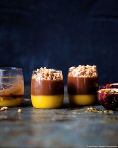 Une délicieuse crème dessert au chocolat et fruit exotique ! À tester d'urgence...