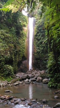 Casaroro Falls, Valencia,  Negros Oriental, Philippines