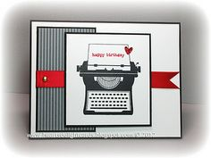 simple and cute #stampin up #you're my type