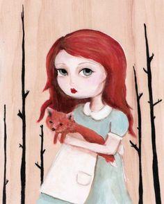 Neko and the fox, by Emily Winfield Martin aka The Black Apple