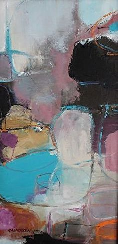 Nijole Rasmussen Abstract Art