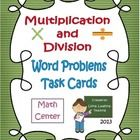 In this packet you will find 3 sets of Task Cards with 12 problems each.  Along with the task cards, you will also receive half-sheet recording she...
