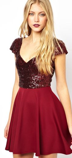Cranberry sparkles for a Christmas party