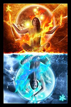 fire and ice art photos | fire and ice by nvrdi on deviantART