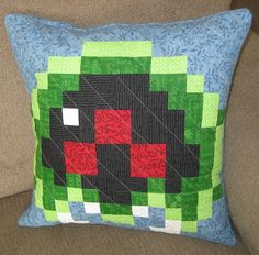 Hey, I found this really awesome Etsy listing at https://www.etsy.com/listing/191178747/baby-metroid-quilted-pillow-cover-light