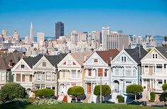 PARK WITH A VIEW: ALAMO SQUARE It's home to one of the city's most iconic images, featured on everything from postcards to the opening credits of the 1980s TV series Full House.