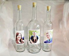 wine bottle used as a wedding sand container - Google Search
