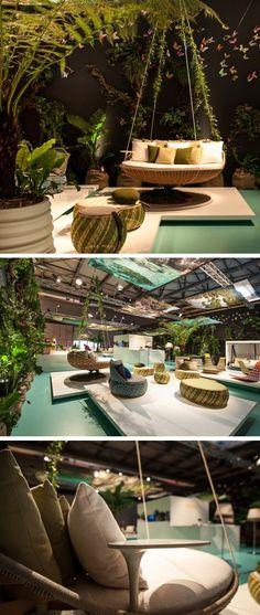 O designerDaniel Pouzetcriou aSwingrest DEDON