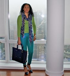 Blues and Greens | StilettoEsq