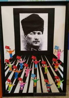 Atatürk project work - New Deko Sites Christmas Door Decorations, School Decorations, Preschool Art, Preschool Activities, International Children's Day, Reading Themes, Act For Kids, Halloween Projects, Classroom Themes