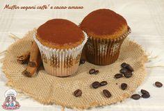 Muffin vegani caffè e cacao amaro