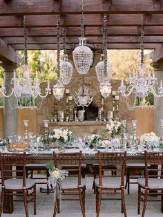 Lighting and dining
