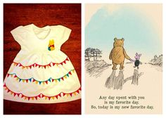 Disney Winnie the Pooh dress by NielsenDesign on Etsy