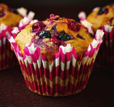 Valentine's Breakfast: Mixed Berry & Cinnamon Muffins | News | Lorraine Pascale