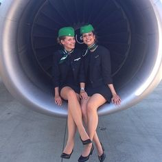 Welcome to these lovely #GermaniaAirlines #flightattendants @klktsari #flightcrew #crew #crewlife #flightattendant #flightattendantlife #airline #aviation #travel #tourism #flying