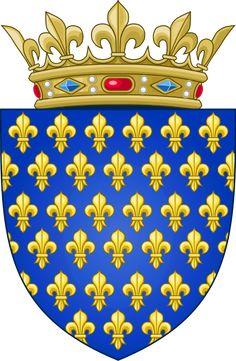 Arms of the Kingdom of France (Ancien) - Drapeau de la France — Wikipédia