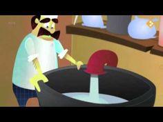 De bakker, de bakker mengt water en meel. En ook nog wat gist, maar vooral niet teveel. En dan wordt het deeg, het wordt tien keer zo groot. Het gaat in de o...