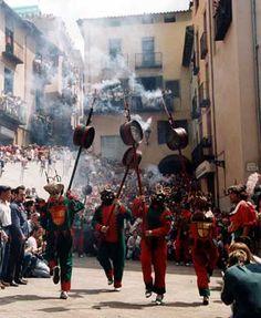 Patum of Berga from Catalonia Spain