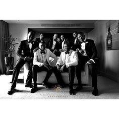 Black and white perfection by @adebayoderu || Love the look! #GroomInspiration #Groom #GroomsMan #GroomsMan #LondonWedding #Dubai #DubaiLife