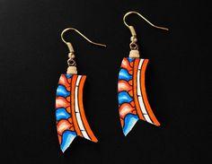 Mural Jewellery - Short Earrings