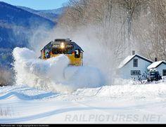 RailPictures.Net Photo: NECR 2681 New England Central EMD SD40-2 at Braintree, Vermont by Kevin Burkholder