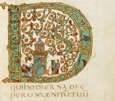 Anyone perusing illuminated manuscripts is bound to be struck with a new appreciation for the potential of the alphabet – all those decorated and historiated initials at the start of paragraphs sho…
