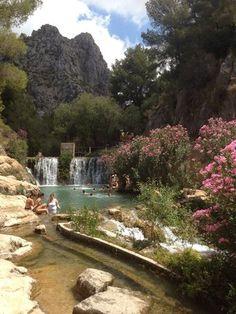 wodospad Fonts de l'Algar